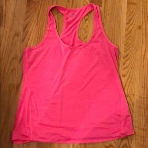 Athleta Shadow Stripe Chi tank - Large